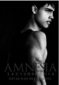 """Portada del libro """"Amnesia: La Ciudad Roja """""""