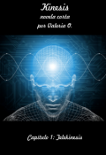 """Portada del libro """"Kinesis - Capítulo 1: Telekinesis"""""""