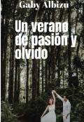 """Portada del libro """"Un verano de pasión y olvido """""""