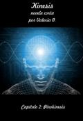 """Portada del libro """"Kinesis - Capítulo 2: Pirokinesis"""""""