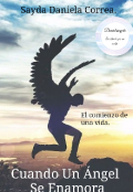 """Portada del libro """"Cuando Un Ángel Se Enamora"""""""