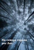 """Book cover """"На севере города рос Лес"""""""