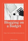 "Book cover ""Blogging on a Budget"""