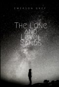 "Book cover ""The Lone and Level Sands"""