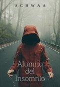 """Portada del libro """"Alumno del Insomnio"""""""