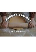 """Book cover """"Grandpa's Recipes """""""