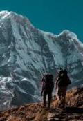 "Portada del libro ""Annapurla, La Montaña Maldita"""