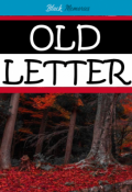 """Portada del libro """"Old Letter"""""""