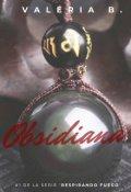 "Portada del libro ""Obsidiana"""
