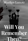 "Book cover ""Will You Remember Then? """