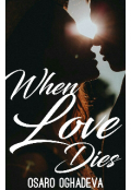 "Book cover ""When Love Dies """