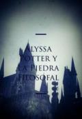 """Portada del libro """"Alyssa Potter y La Piedra Filosofal"""""""
