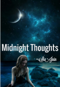 """Book cover """"Midnight Thoughts"""""""