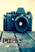 "Book cover ""Pixels"""