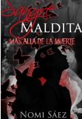 """Portada del libro """"Sangre Maldita. Más allá de la Muerte 1"""""""