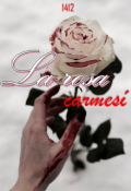 "Portada del libro ""La Rosa carmesí"""