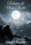 """Portada del libro """"Relatos de Una Noche ~verano~"""""""