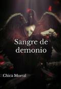 """Portada del libro """"Sangre de demonio"""""""