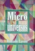 """Portada del libro """"Microuniversos"""""""