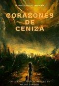 """Portada del libro """"Corazones de Ceniza"""""""