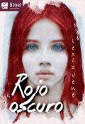 """Portada del libro """"Rojo Oscuro"""""""