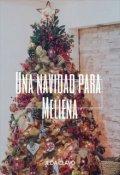 """Portada del libro """"Una Navidad para Meliena"""""""