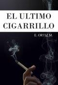 """Portada del libro """"El Último Cigarrillo"""""""