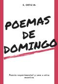 """Portada del libro """"Poemas de Domingo"""""""
