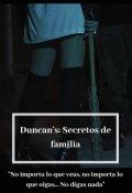 """Portada del libro """"Duncan's: Secretos de familia"""""""