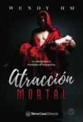 """Portada del libro """"Atracción mortal """""""