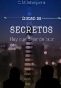 """Portada del libro """"Ciudad de secretos"""""""