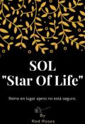 """Portada del libro """"Sol """"Star of life"""""""""""