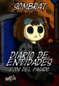 """Portada del libro """"Diario de entidades: Ecos del pasado"""""""