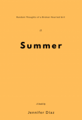 "Book cover ""Summer"""