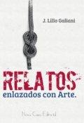 """Portada del libro """"8 relatos enlazados con arte"""""""