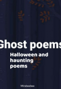 """Book cover """"Ghost poems """""""
