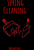 """Book cover """"Spring cleaning """""""