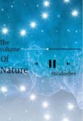 """Book cover """"The volume of nature """""""