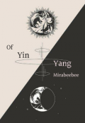 """Book cover """"Of yin and yang """""""