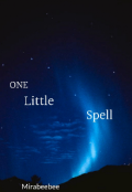 """Book cover """"One little spell"""""""