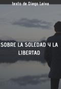 """Portada del libro """"Sobre la soledad y la libertad"""""""