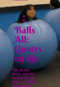 "Book cover ""Balls all"""