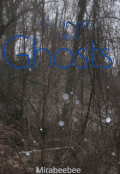 "Book cover ""Off angels and ghosts"""