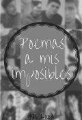 """Portada del libro """"Poemas a mis imposibles"""""""