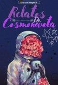 """Portada del libro """"Relatos cosmonauta"""""""