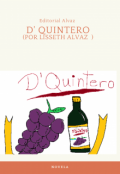 """Portada del libro """"D' Quintero"""""""
