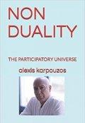 """Book cover """"Non -Duality - Alexis Karpouzos"""""""