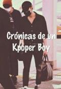 """Portada del libro """"Crónicas de un kpoper boy"""""""