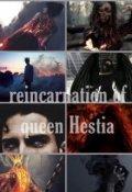 "Portada del libro ""Reincarnation of queen hestia"""