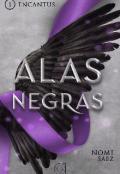 """Portada del libro """"Alas Negras. Encantus 1"""""""